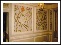 Painted Wall panels